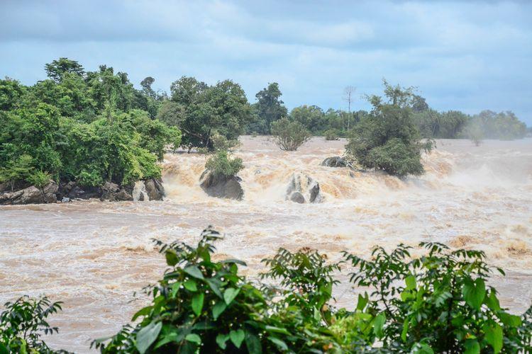 Ilustrasi banjir akibat La Nina