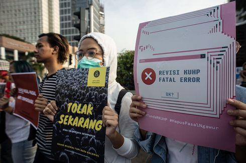 Tolak RKUHP, Ribuan Mahasiswa Akan Unjuk Rasa di Depan Gedung DPR Hari Ini