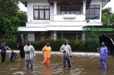 Hujan Jakarta, Depan Rumah Kapolri Jenderal Listyo Sigit Sempat Tergenang