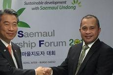 Bicara di Forum Saemaul, Mendes Marwan Tingkatkan Kerja Sama Pembangunan Desa
