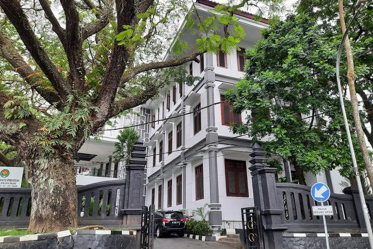 Gedung DPRD Kota Malang yang diusulkan jadi safe house pasien Covid-19, Jumat (9/7/2021).
