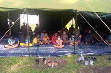 Rumah Retak karena Gempa Swarm, Warga Ambarawa Pilih Tidur di Tenda