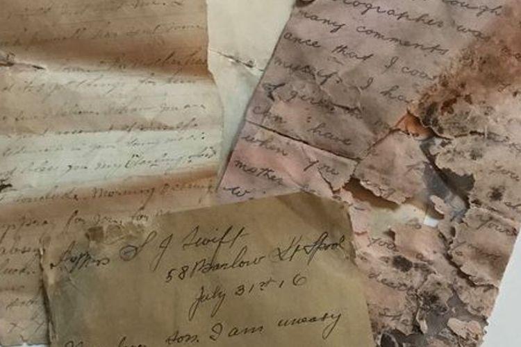 Inilah surat yang ditujukan kepada seorang prajurit Inggris era Perang Dunia I, yang ditemukan 100 tahun kemudian di Perancis.