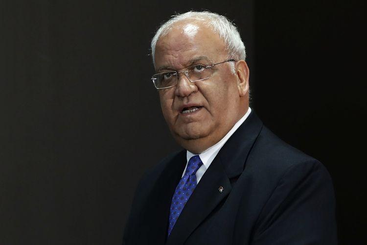 Sekretaris Jenderal Organisasi Pembebasan Palestina (PLO), Saeb Erekat.