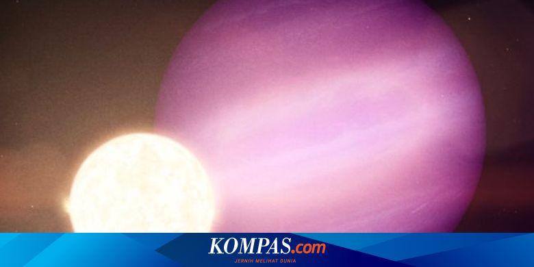 Ilmuwan Menemukan Planet Raksasa Utuh yang Mengeli