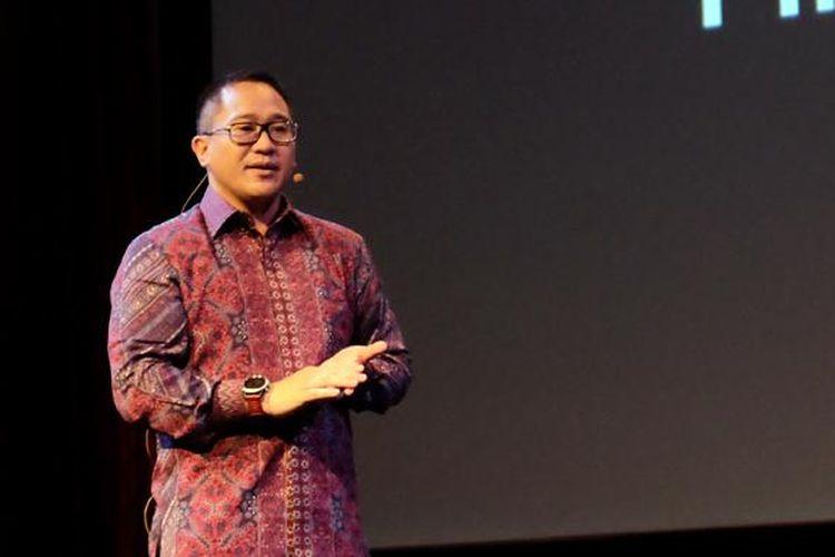 CEO Indosat Ooredoo, Alexander Rusli,