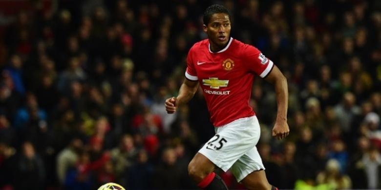 Pemain Manchester United, Antonio Valencia.
