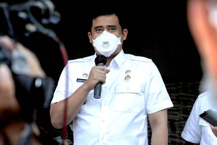 Wali Kota Medan Bobby Nasution akan berkantor di kecamatan yang berstatus zona merah Covid-19. Tujuannya untuk memaksimalkan penerapan PPKM, Selasa (17/8/2021)