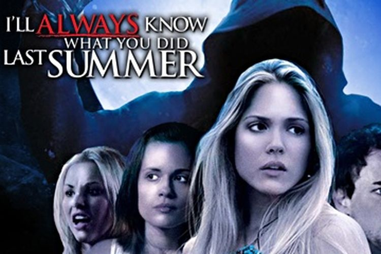 Poster film Ill Always Know What You Did Last Summer