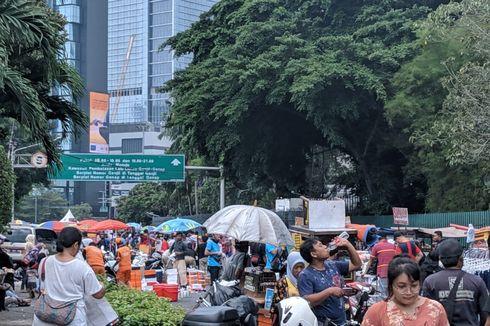 Protes PKL di Car Free Day ke Anies: Katanya Trotoar untuk Jualan, Kenapa Sekarang Diusir?