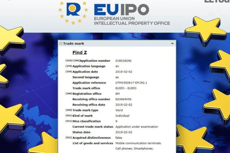 Sertifikasi Oppo Find Z