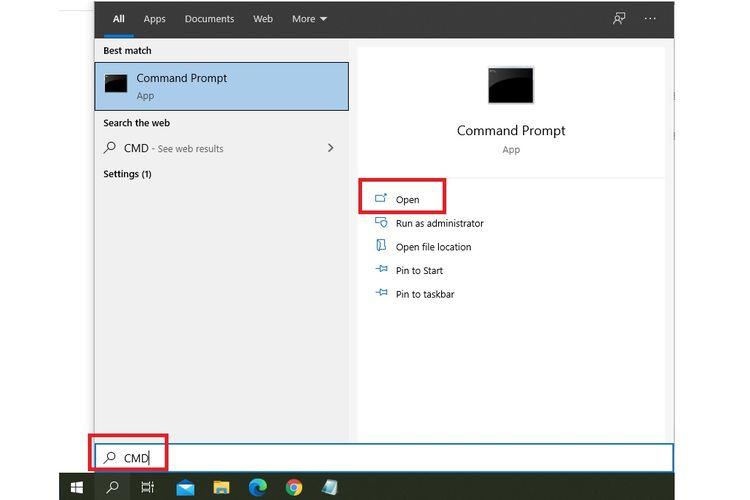 Cara mengecek kesehatan baterai laptop Windows 10