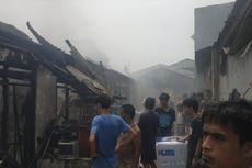 Kebakaran 8 Rumah Kontrakan di Cakung, Diduga karena Gas Bocor