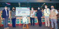 Tanoto Foundation Donasikan 3.000 Konsentrator Oksigen Kepada Kemenkes