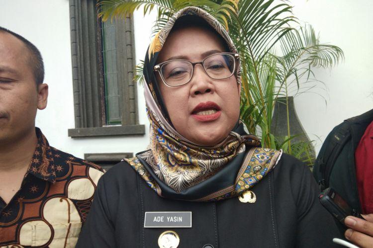Bupati Bogor Ade Yasin saat ditemui di Gedung Sate, Jalan Diponegoro, Kota Bandung, Kamis (16/1/2020).