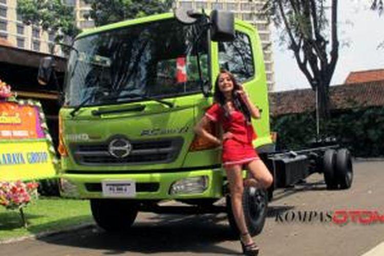 Hino Ranger FC 190 J resmi meluncur di Jakarta, Kamis (22/5/2014).
