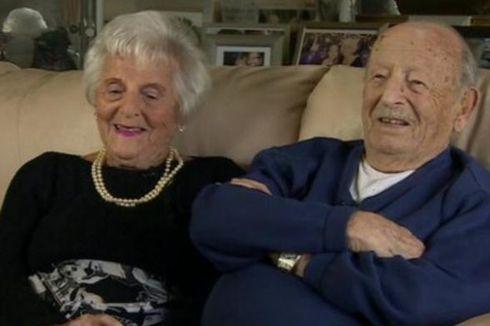 Pasangan Suami Istri Asal Inggris Rayakan HUT Pernikahan Ke-80