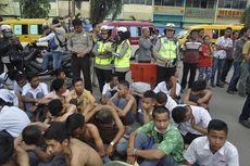 Puluhan Pelajar STM di Palembang yang Gagal Demo Bawa Senjata Tajam