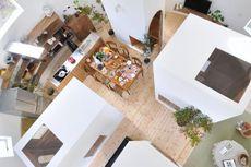 Desain Rumah Melingkar, Cocok untuk Pasangan Muda!