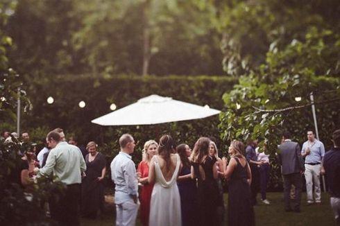 Begini, Dekorasi Pesta Pernikahan di Taman Terbuka