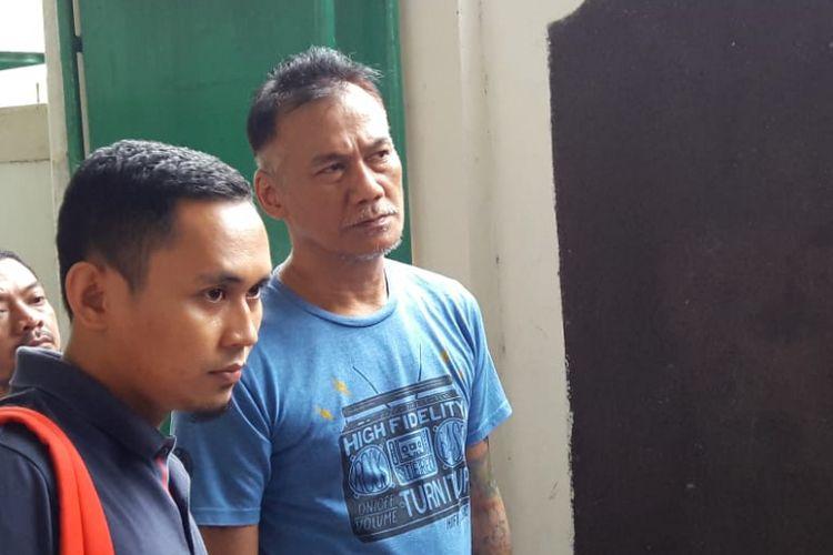 Tio Pakusadewo di Pengadilan Negeri Jakarta Selatan, Senin (5/7/2018).