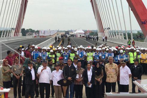 Jokowi: Mulai Hari Ini Tol Merak sampai Pasuruan Bisa Dilewati
