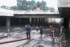 Masih Terendam Banjir, Terowongan Kemayoran Belum Bisa Dilintasi