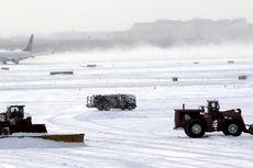 Badai Salju, Suhu Udara di AS sampai Minus 50 Derajat Celsius