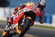 Giliran Marquez yang Asapi Rossi dan Vinales