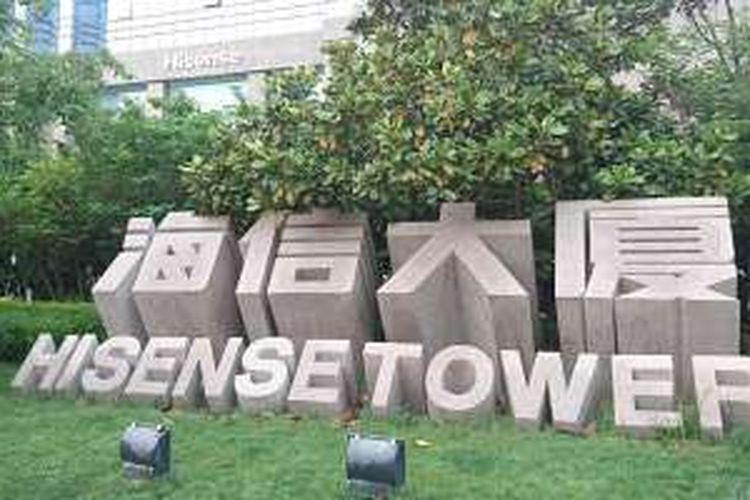 Kantor pusat Hisense yang terletak di daerah Qingdao, China