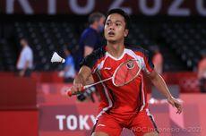Piala Sudirman 2021 - Anthony Ginting Menang, Indonesia Unggul atas NBFR