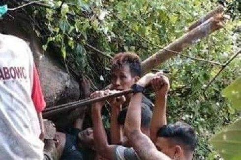 Seorang Warga Tergencet Batu Saat Mencari Pohon Serut, Proses Evakuasi 10 Jam, Korban Meninggal di Rumah Sakit