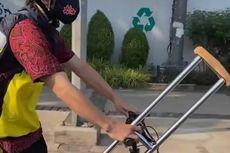 Cerita Pesepeda Disabilitas, 2 Kali Dilarang lewat Jalan Sudirman-Thamrin Saat Pulang Pergi Kantor