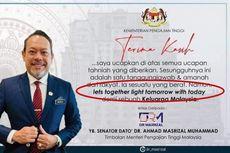 Wakil Menteri Malaysia Di-bully Netizen gara-gara Salah Grammar