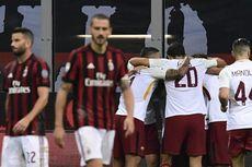 AS Roma Vs AC Milan, Pertarungan Demi Liga Champions