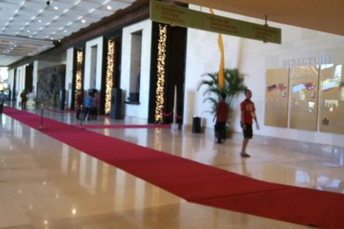 Karpet Merah di Munaslub Partai Golkar untuk Presiden Joko Widodo