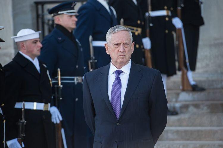 Menteri Pertahanan AS, James Mattis.