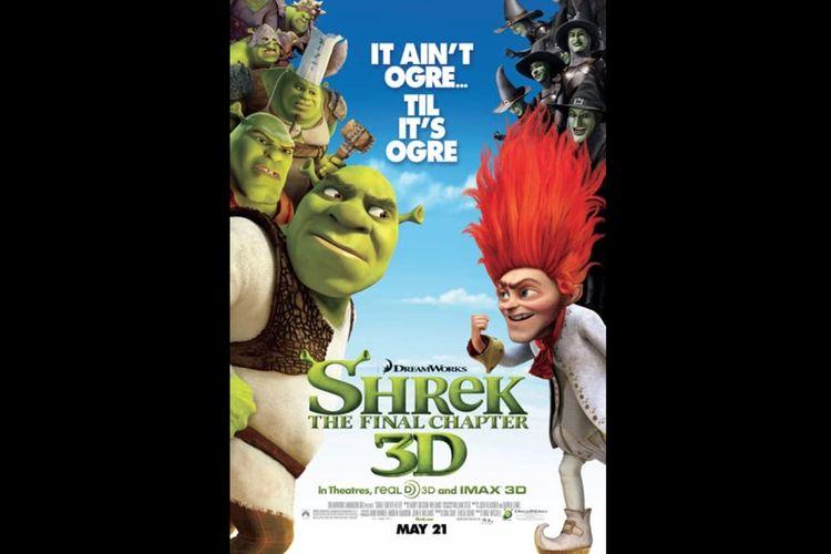 Film animasi Shrek Forever After (2010) dapat Anda saksikan di Netflix.