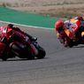 Dobrak Tabu MotoGP dan Atasi Marquez, Bagnaia Dapat Ucapan Selamat Sang Guru, Rossi