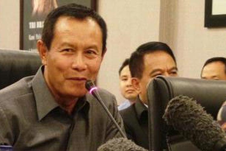 Kepala Badan Reserse Kriminal Polri Komisaris Jenderal Sutarman.
