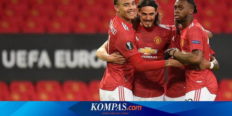 Hasil Lengkap Liga Europa - Arsenal Pesta Gol, Man