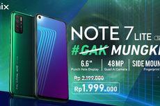 Infinix Note 7 Lite Resmi di Indonesia, Harga Rp 1,9 Juta