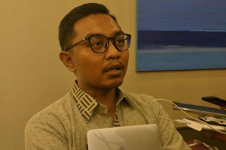 Peneliti CSIS Arya Fernandes di Kantor CSIS