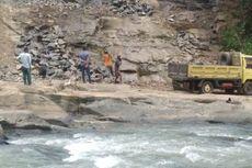 Penambangan Batu Ilegal di Kawasan Geopark Ciletuh Dihentikan