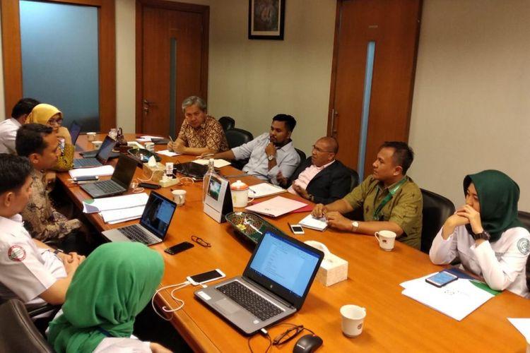 Pertemuan pihak kuasa hukum dari Tim Advokasi Trastuzumab dengan pihak BPJS Kesehatan