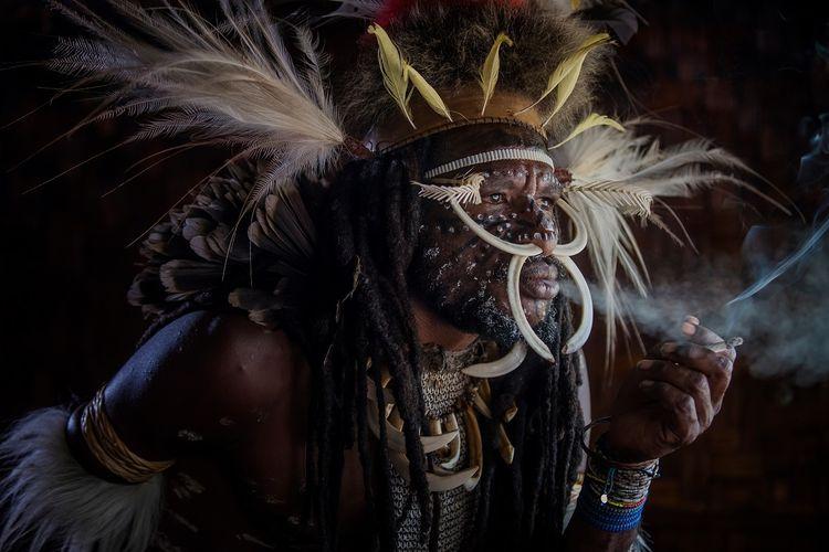 Potret Suku Dani di Wamena, Papua DOK. Shutterstock/Ronaldy Irfak