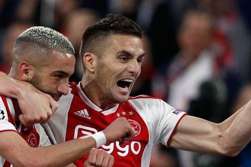 Gagal ke Final Liga Champions, Bintang Ajax Ini Galau Semalaman