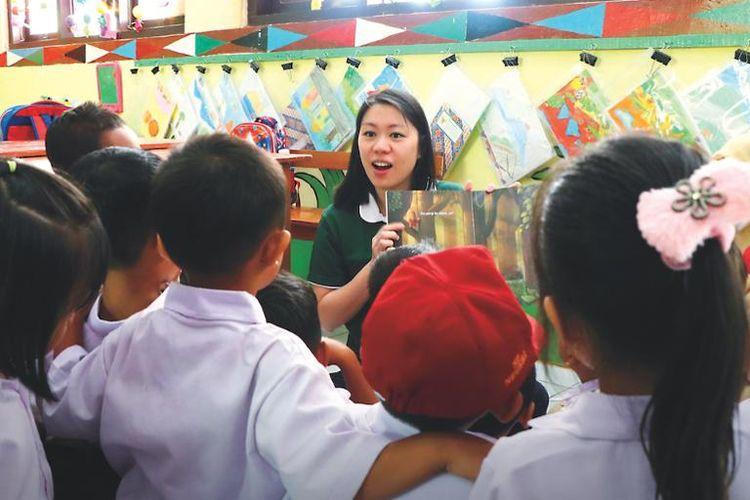 Belinda Tanoto yang masuk dalam daftar pahlawan filantropi versi Forbes.