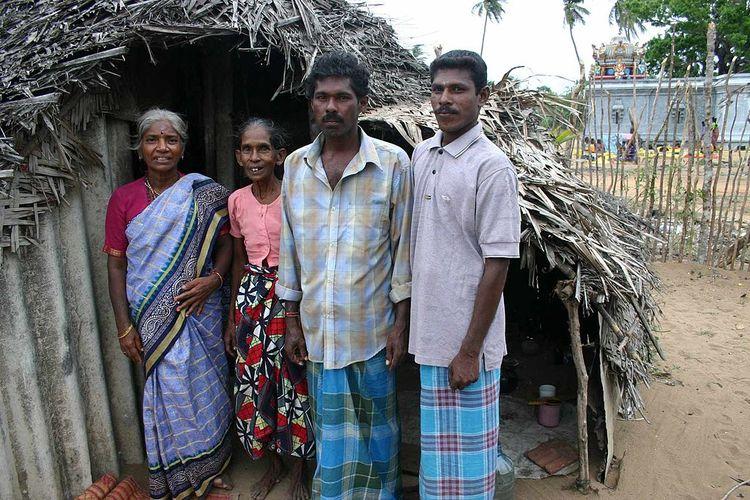 Keturunan bangsa Vedda di Sri Lanka.