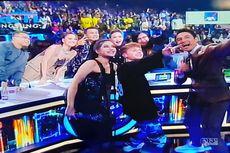 Maia dan BCL Berselfie dengan HRVY di Indonesian Idol X, Penonton Heboh